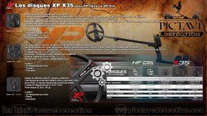 Disques Xp X35 descriptif
