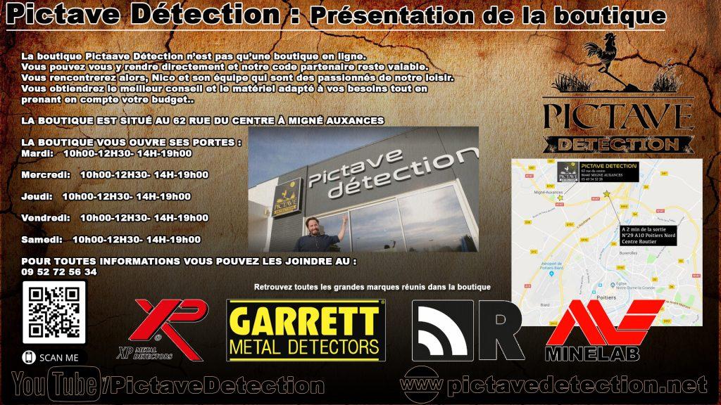 Présentation Boutique pictave detection