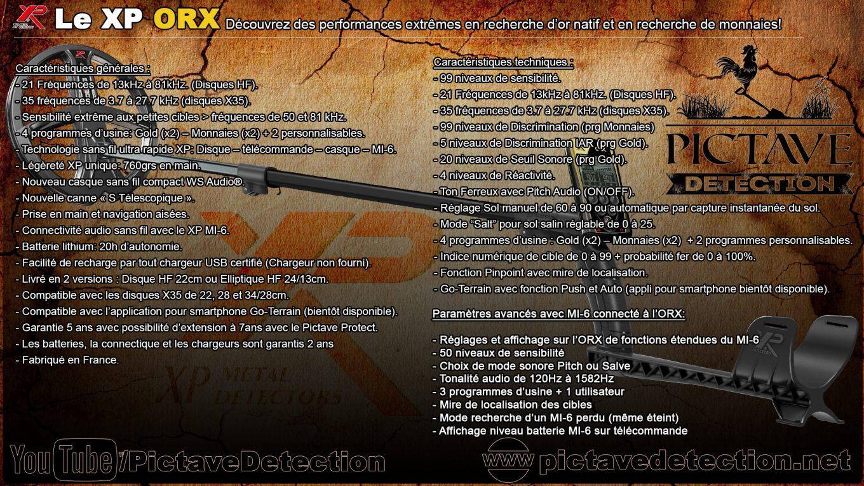 Fiche technique et de présentation Xp ORX