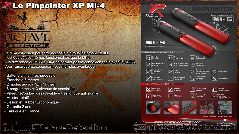 présentation pinpointer xp mi-4
