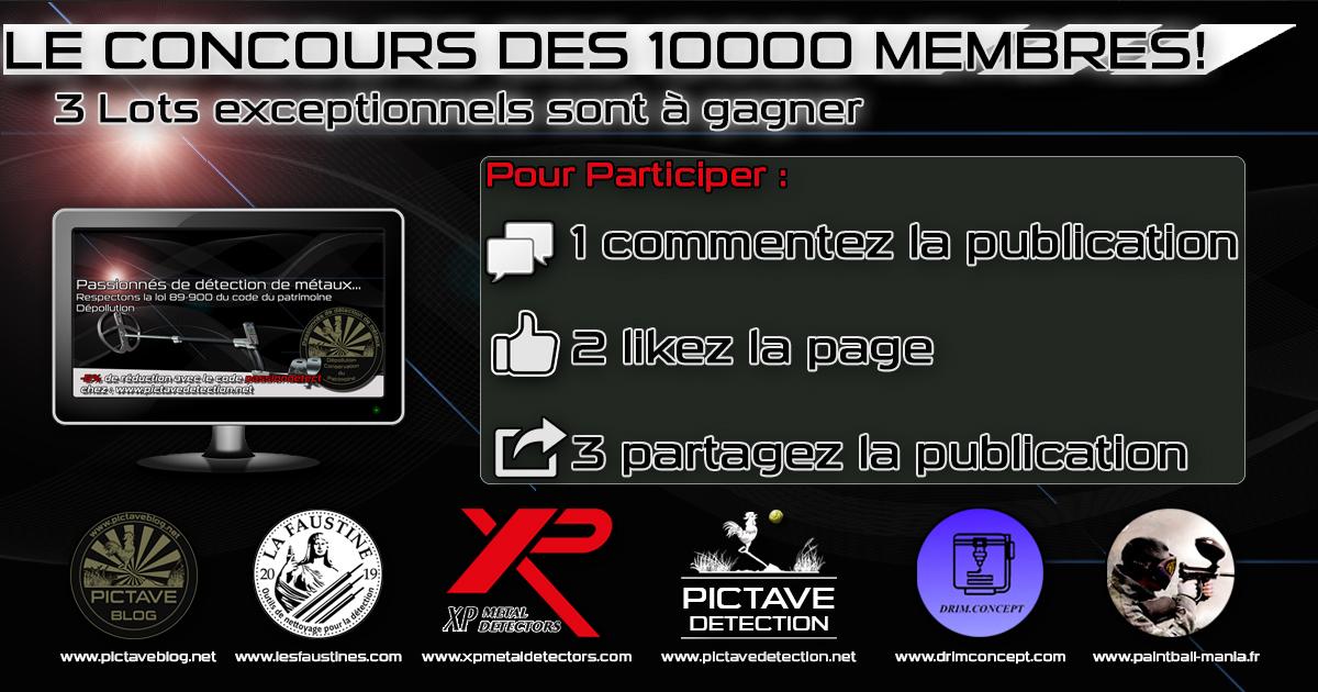 concours 10000 membres