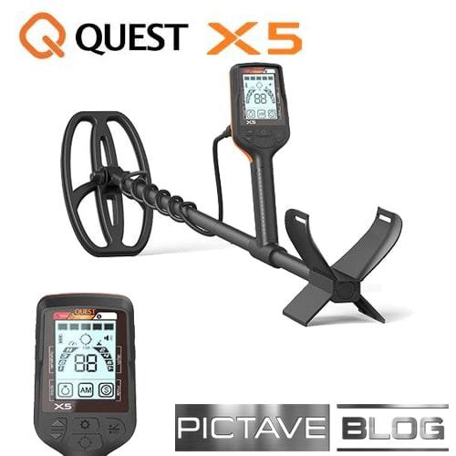 Quest X5 Détecteur pour enfant et adulte