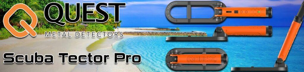 détecteur de métaux aquatique et pour la plage
