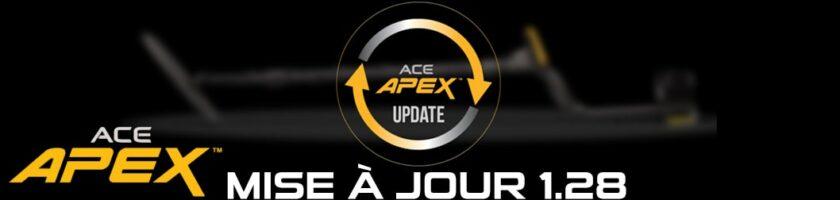 Mise à jour Garrett Ace Apex