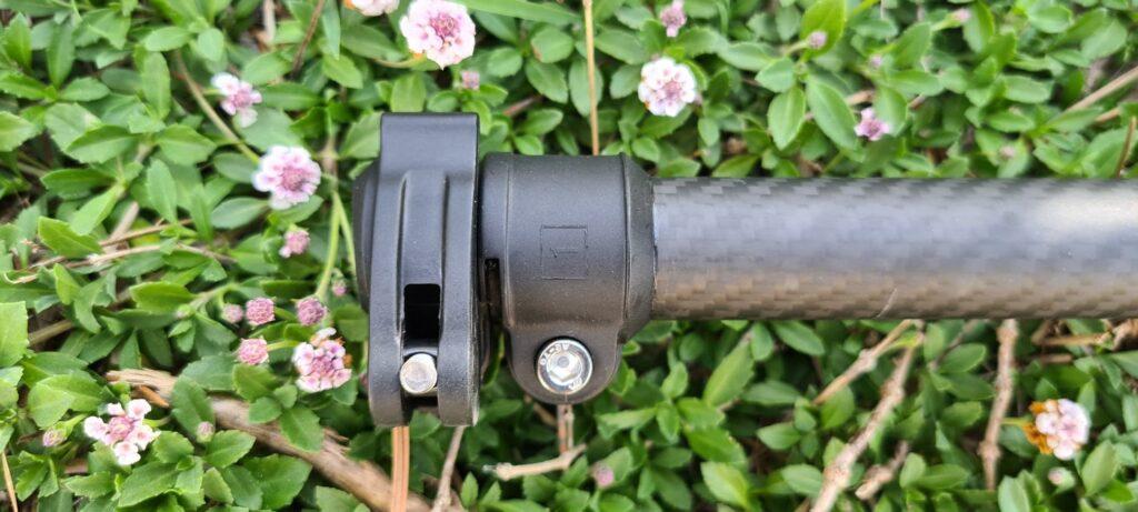 Canne carbone et clamp Vista X