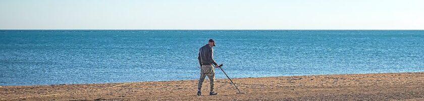 la détection de métaux à la plage